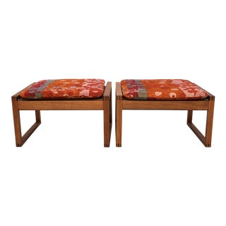 Danish Modern Benches - A Pair