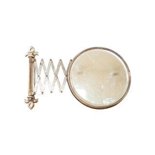 Vintage Fleur de Lis Shaving Mirror