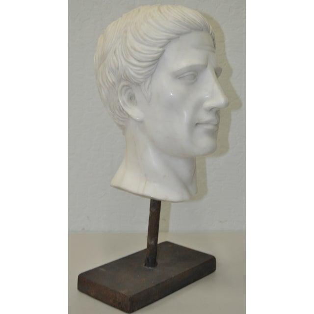 Italian Marble Roman Bust C.1950 - Image 2 of 6