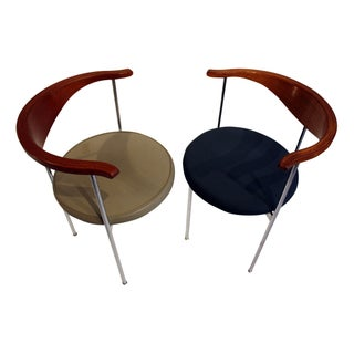 Frederick Sieck for Fritz Hansen El-Bow Chairs