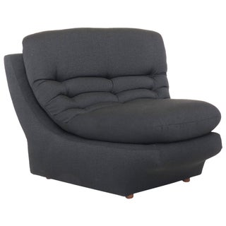 Vladimir Kagan Black Lounge Chair