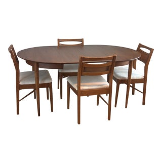American of Martinsville Mid-Century Danish Modern Dining Set