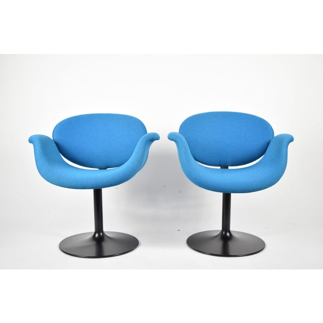 Pair of Little Tulip Chairs by Pierre Paulin for Artifort - Image 2 of 10