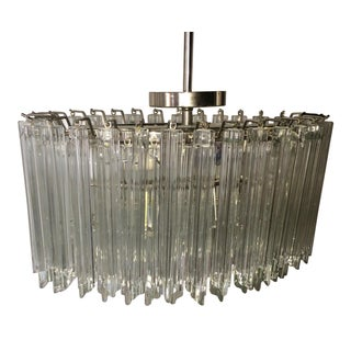 Crystal Prism Tiered Chandelier