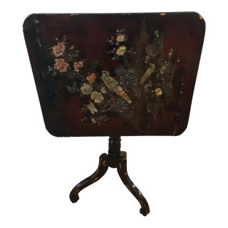 Chinoiserie Folding Table
