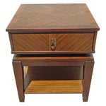 Image of New Mid-Century Style End Table With Drawer