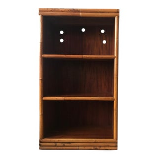 Rattan Capped Bookshelf