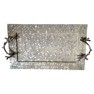Mother of Pearl Serving Tray