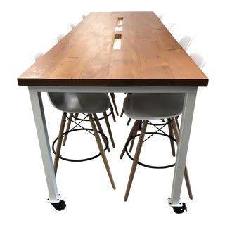 Office Social Table & Chairs
