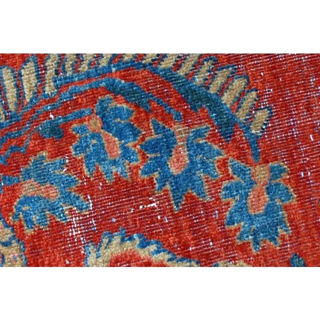 "Antique Persian Mahal Vagireh Rug - 2'1"" X 3'10"" - Image 8 of 10"