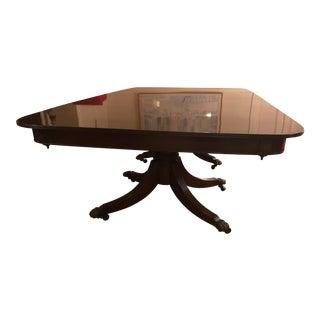 Regency Style Twin pedestal Dining Table