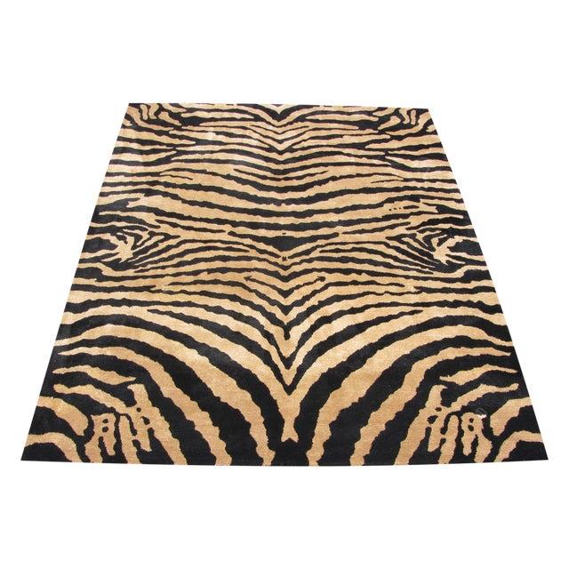 Safavieh Soho Zebra Rug - 7′6″ × 9′6″ - Image 1 of 4