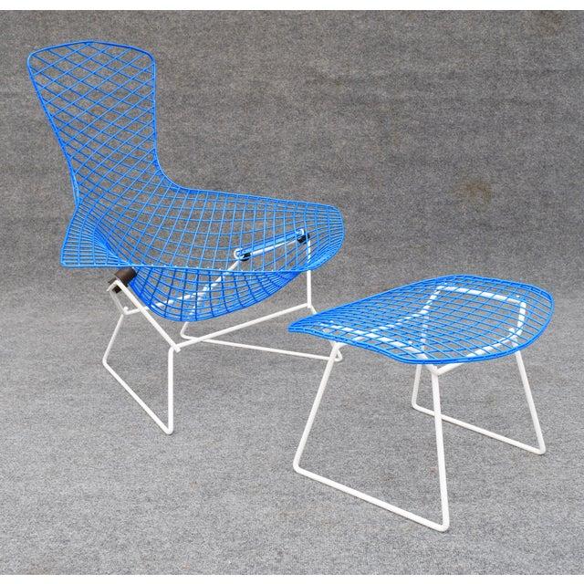 """Mid-Century Modern """"Bird"""" Chair & Ottoman - Image 10 of 10"""
