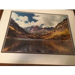 "Image of ""Maroon Bells"" Rocky Mountain Photograph"