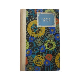 Gray's Elegy, Hand Decorated Cover Circa 1930