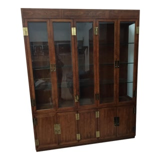 Henredon Scene I Campaign Collection China Cabinet