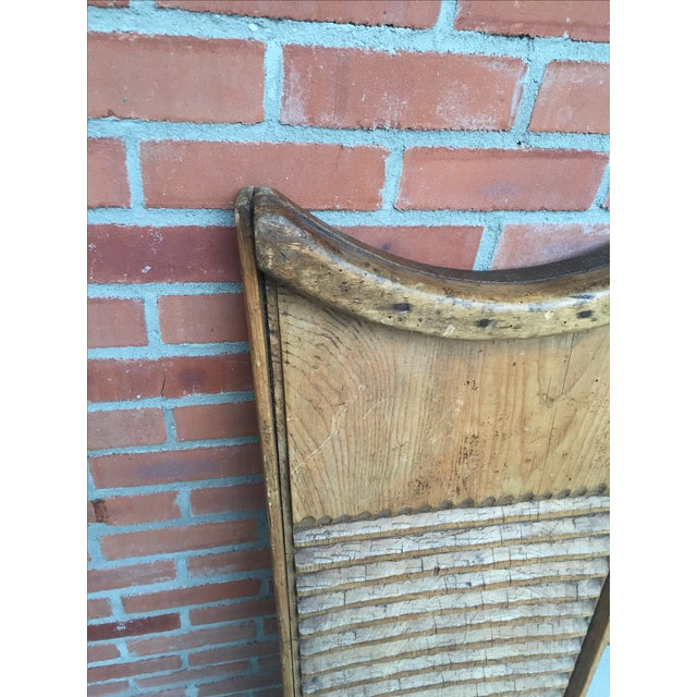 Rustic European Washboard - Image 3 of 9