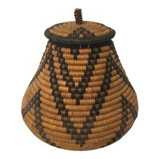 Handcrafted Zulu Basket