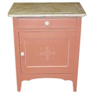 Painted Danish End Table