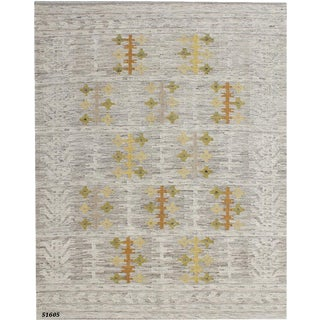 Flat Weave Swedish Pattern Area Rug - 8' X 10'