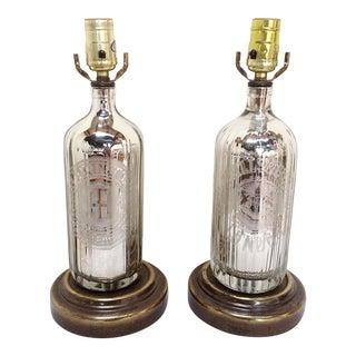 Leviton Mercury Bottle Lamps - A Pair