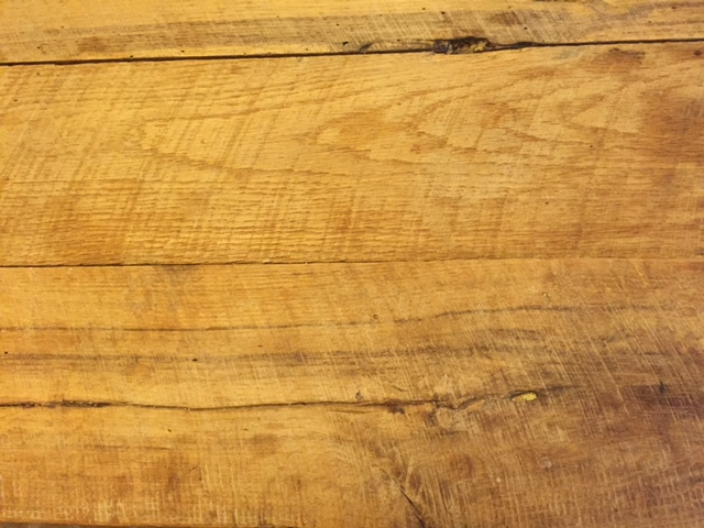 white oak dining table bench image