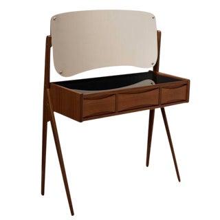 Vintage Arne Vodder Danish Mid-Century Modern Teak Vanity