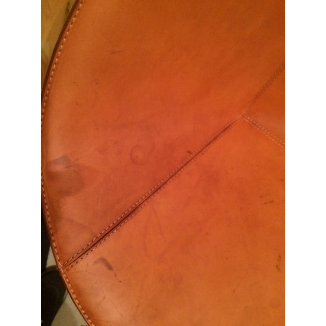 Contemporary Leather Fasem Chair - Image 3 of 8