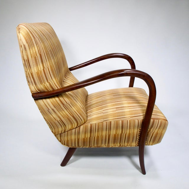 Italian Mid-Century High Back Chairs - A Pair - Image 7 of 10