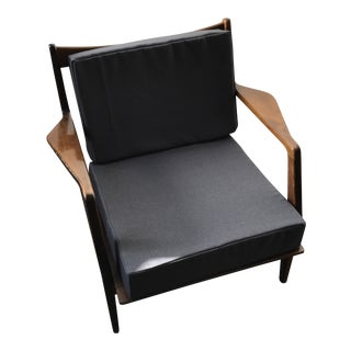 Ib Kofod-Larsen Selig Mid-Century Modern Spindle Back Arm Chair