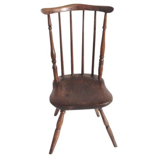 Early and Rare 19th Century Rare Child's Windsor Chair