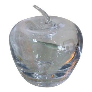 Blenko Art Glass Apple