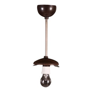 Bauhaus bakelite hanging lamp, 1946