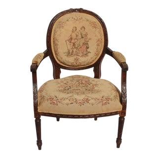 Antique 19th Century Walnut Side Chair