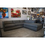 Image of Nathan Anthony Upholstered Gray Sectional