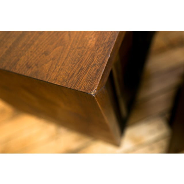 Mid Century Brutalist Paul Evans Styled Nightstands - a Pair - Image 7 of 9