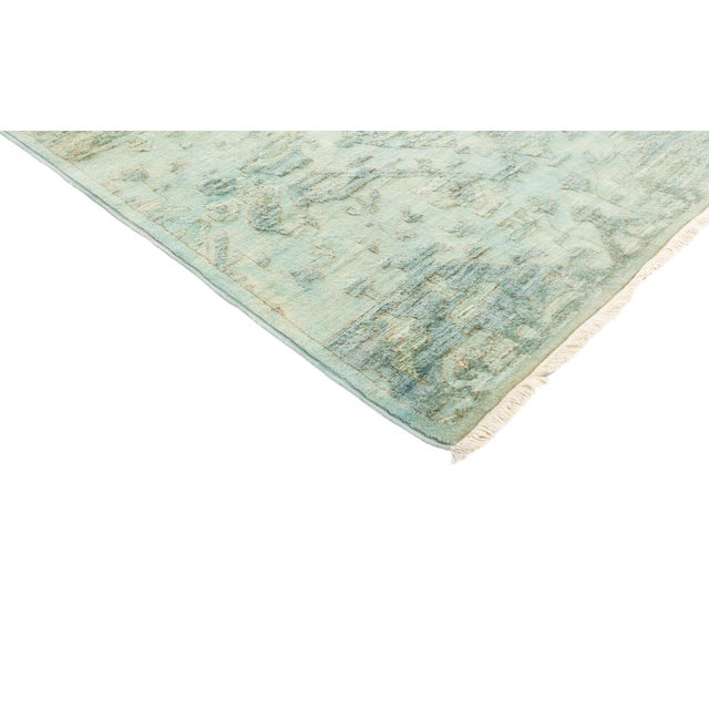 """Over-Dyed Hand Knotted Runner - 3' X 12'7"""" - Image 2 of 3"""