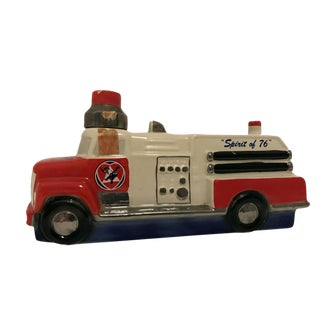 Vintage Firetruck Decanter