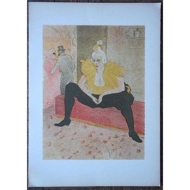 """Image of Vintage Lithograph """"Elles [Women]"""" by Lautrec"""