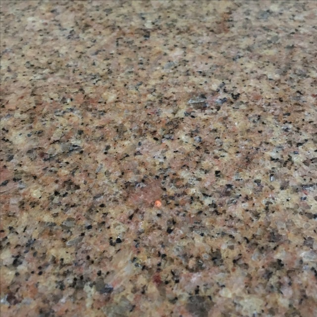 """Room & Board 36"""" Round Granite Table Top Only - Image 3 of 4"""