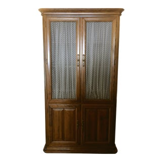 Ethan Allen Maple Armoire
