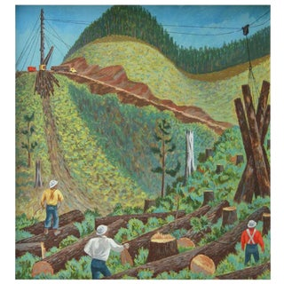 Fletcher Martin's Tree Workers Painting
