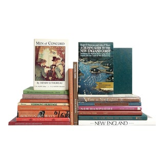 New England Bookshelf Collection - Set of 20