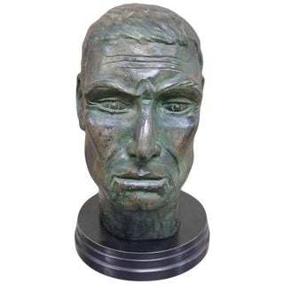 Julius Caesar Head Sculpture