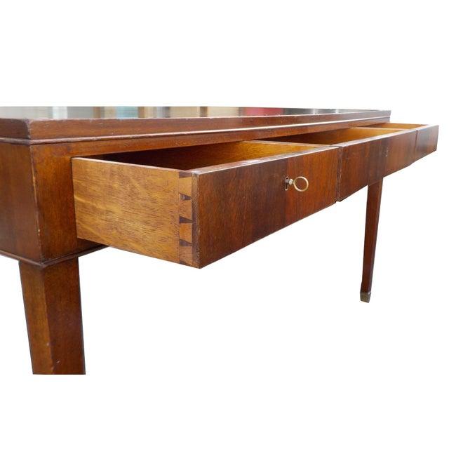 Lysberg Hansen & Therp Wood Minimalist Desk - Image 4 of 9