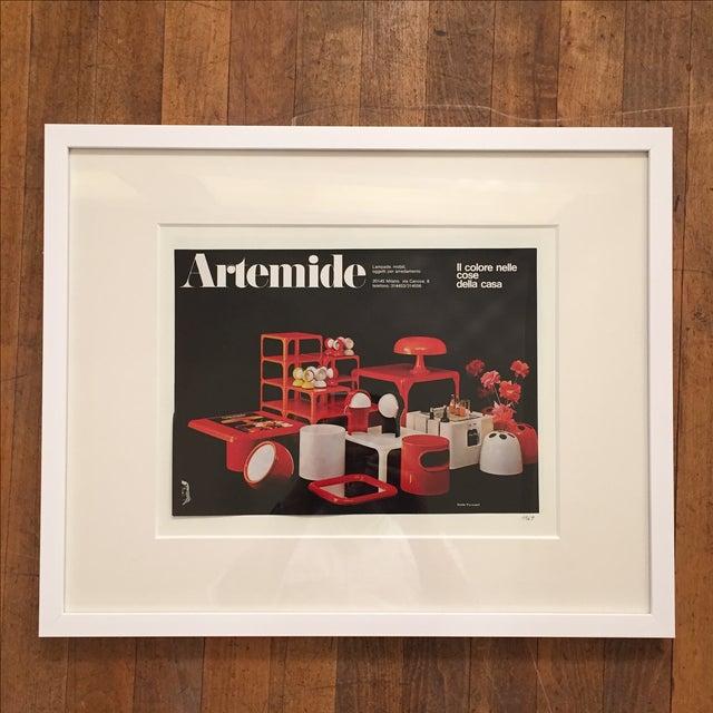 1969 Artemide Emilio Fioravant Advertisement - Image 2 of 5