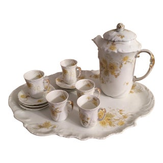 Vintage Limoges Tea Set - Set of 6