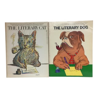 1970s The Literary Dog and Cat Books - A Pair
