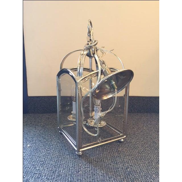 Visual Comfort Arch Top Mini Lantern in Nickel - Image 3 of 6