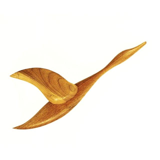 Mid-Century Flying Bird Wall Art - Image 1 of 5